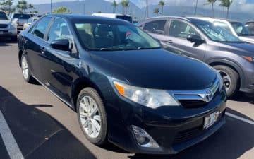 Rent Full Size Sedan Model Year 2010-2016